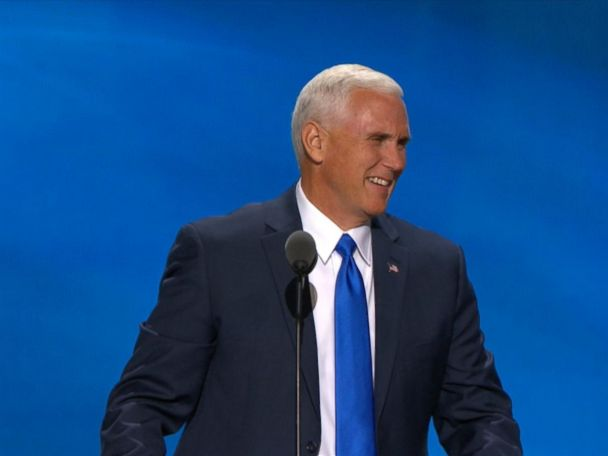 WATCH:  Mike Pence Accepts Vice President Nomination