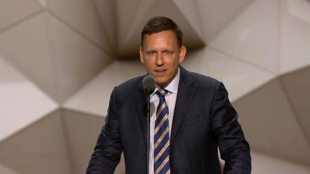 VIDEO: Peter Thiel: Im Proud to Be Gay, Im Proud to Be a Republican