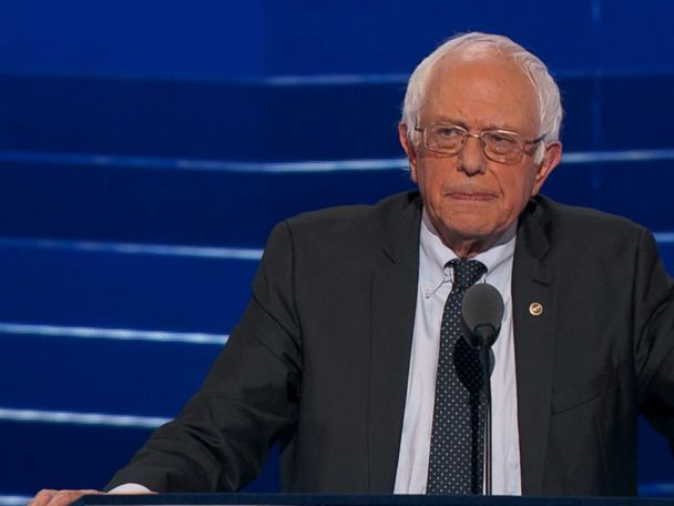 WATCH:  Sanders Backs Clinton Despite 'Disappointment' From Supporters