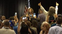 VIDEO: The crowd booed Debbie Wasserman Schultz when she started addressing a delegation breakfast this morning in Philadelphia, the morning after she announced that she would resign as the chair of the Democratic National Committee.