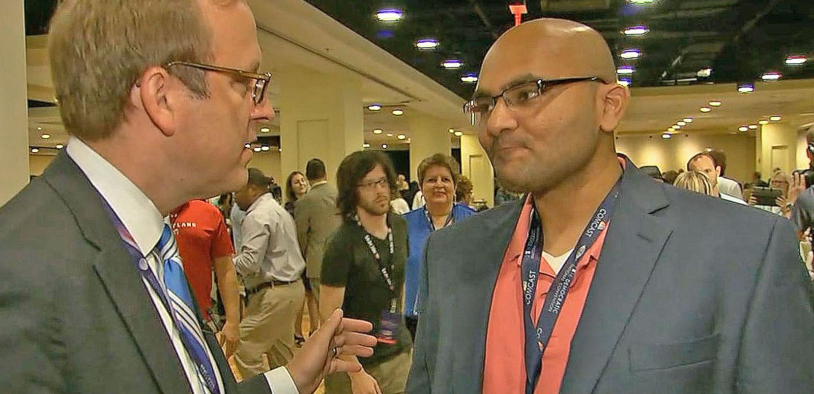VIDEO: DNC Attendees React to Debbie Wasserman Schultz's Presence at Convention