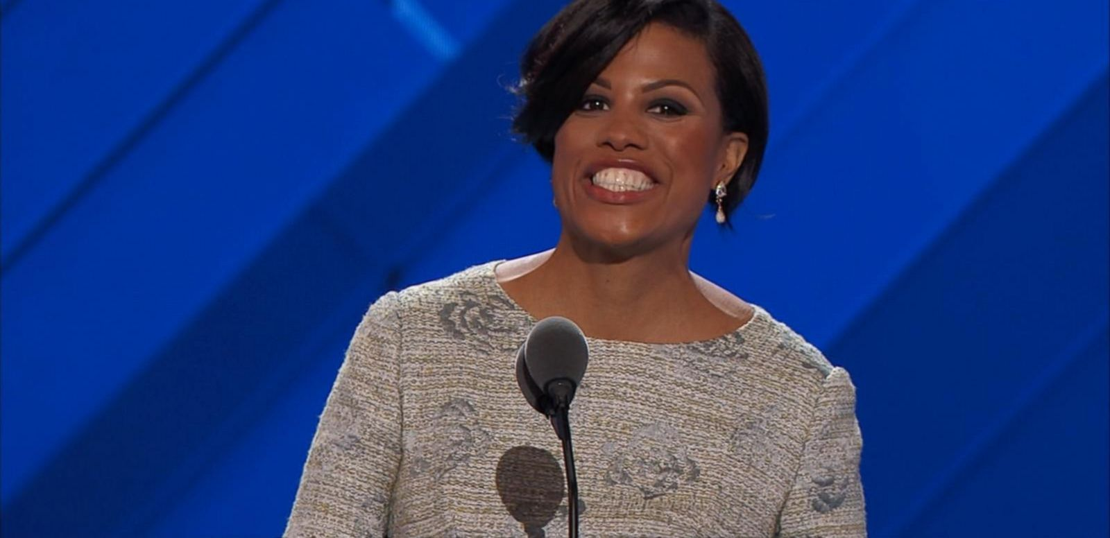 The mayor of Baltimore officially launched the convention instead.