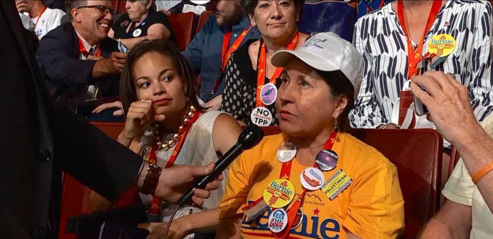 VIDEO: Bernie Sanders Delegates Remain Hopeful