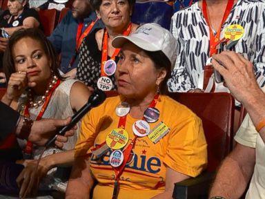 WATCH:  Bernie Sanders Delegates Remain Hopeful