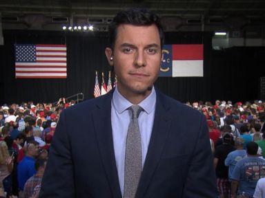 WATCH:  Trump Hits Campaign Trail as DNC Kicks Off