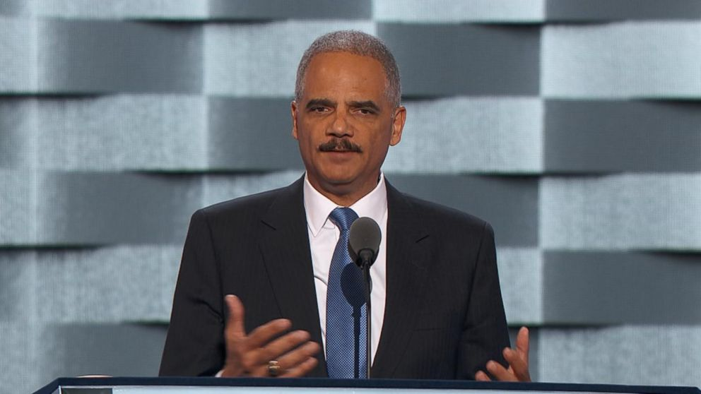 eric holder speaks at the dnc already great nation video abc news