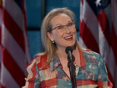 WATCH:  Meryl Streep on Hillary Clinton: 'She'll Be the First, But She Won't Be the Last'