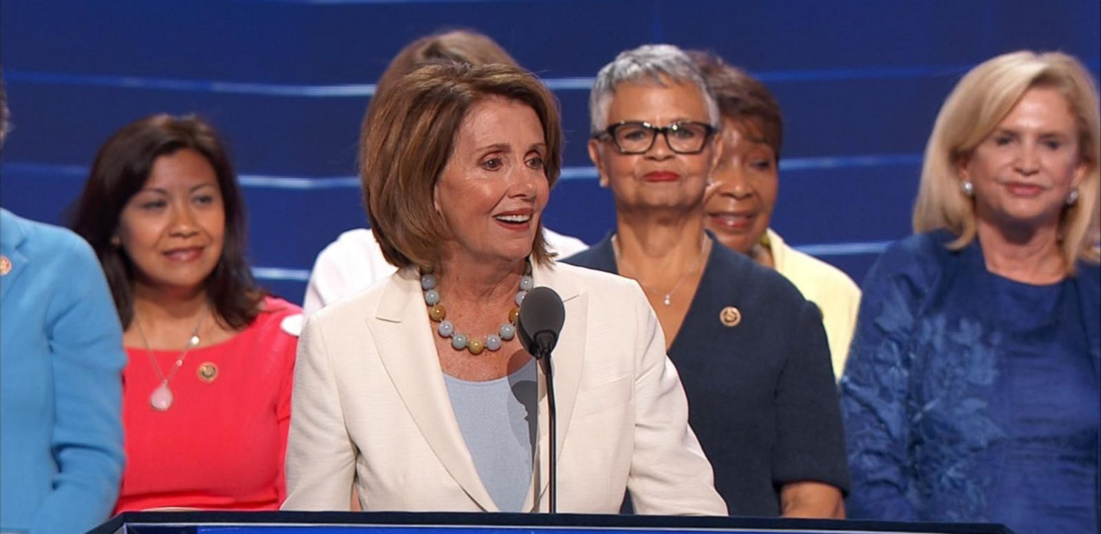 VIDEO: House Leader Nancy Pelosi Addresses the Democratic National Convention