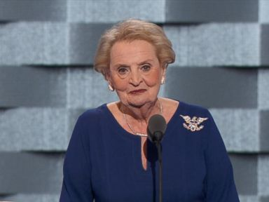 WATCH:  Madeleine Albright's Speech at the Democratic National Convention