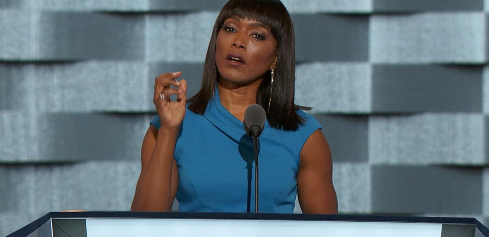 VIDEO: Angela Bassett Introduces the Mothers of Victims of the Charleston Church Shootings at the DNC