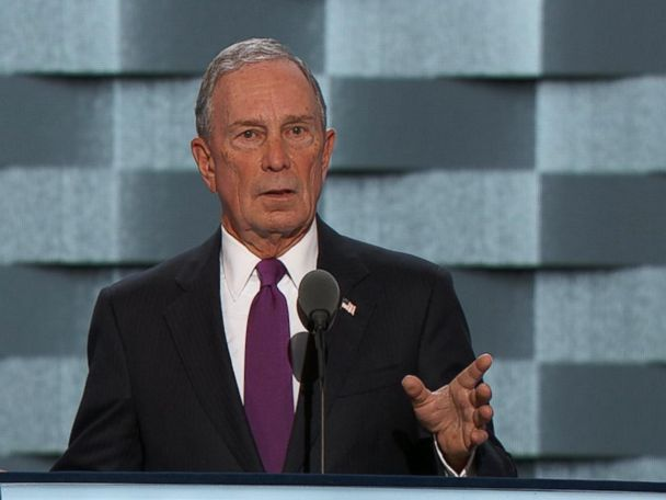 WATCH:  Michael Bloomberg Says It's 'Imperative' That Hillary Clinton Be Elected