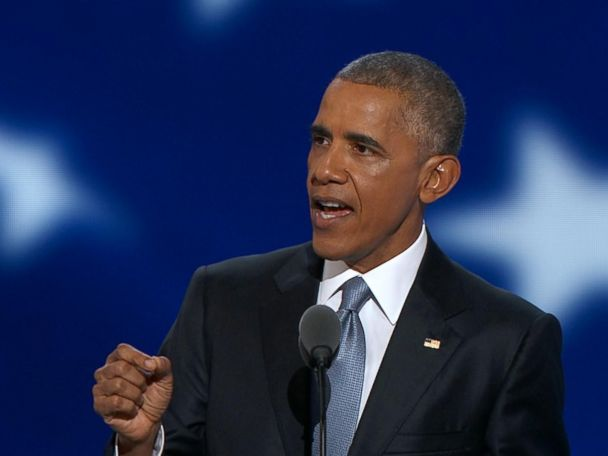 WATCH:  Obama Tells DNC 'We Don't Look to Be Ruled'