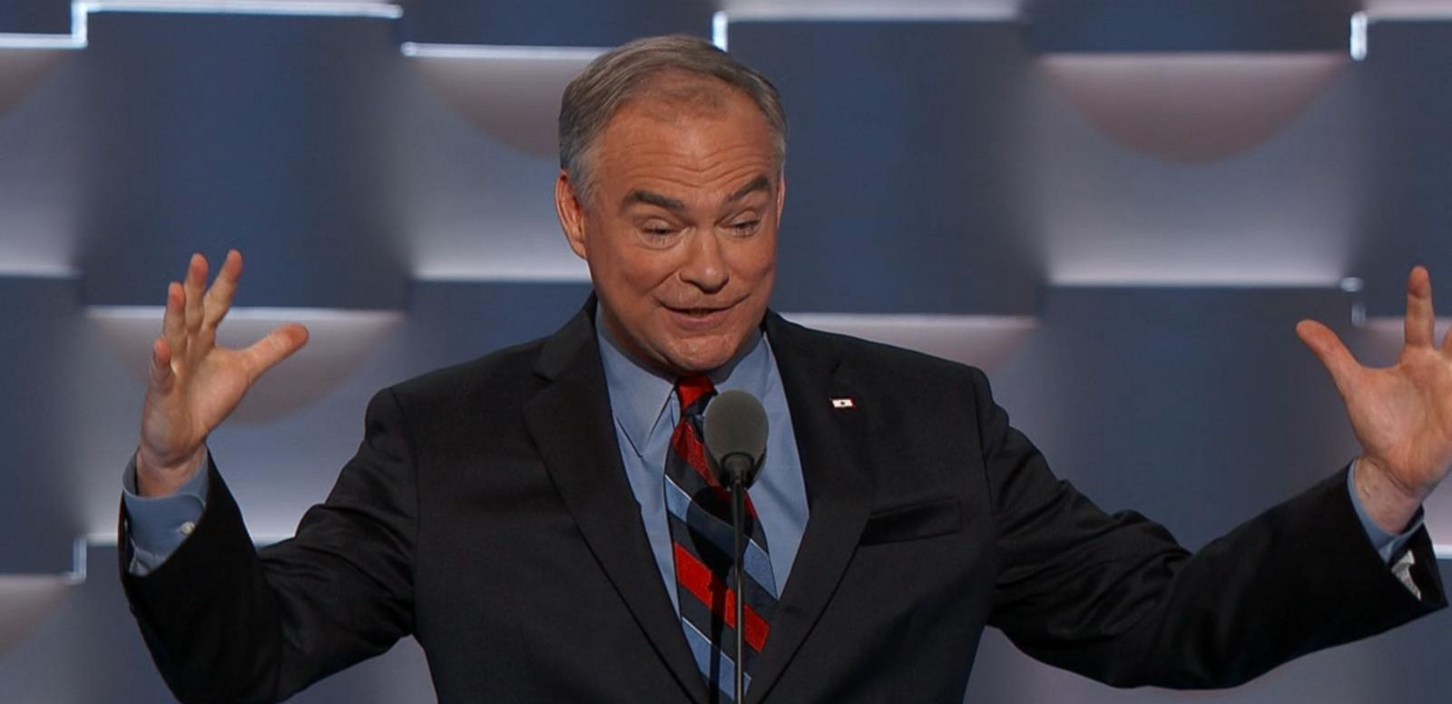 VIDEO: Tim Kaine Officially Accepts the Vice Presidential Nomination For the Democratic Party