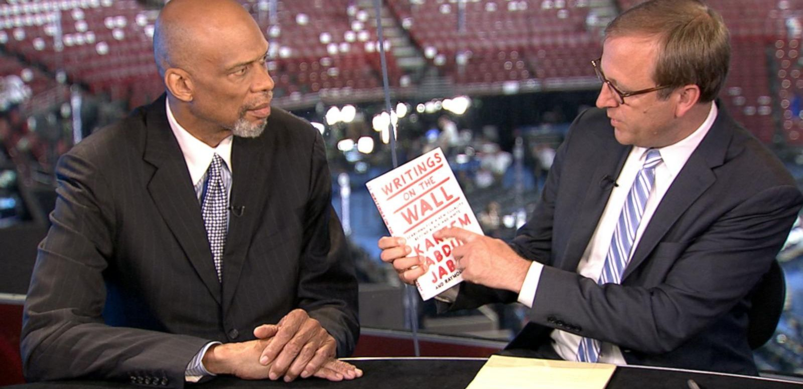 VIDEO: Catching Up With Kareem Abdul-Jabbar Ahead of His DNC Speech