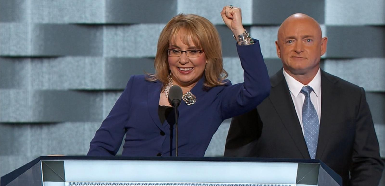 VIDEO: Gabby Giffords: 'I Want to Say Madam President'