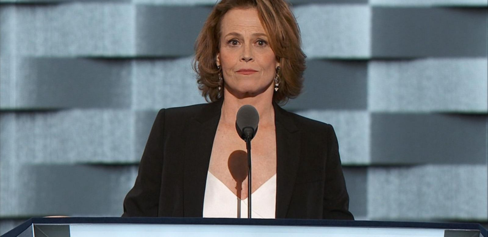 VIDEO: Sigourney Weaver Speaks of Climate Change at DNC