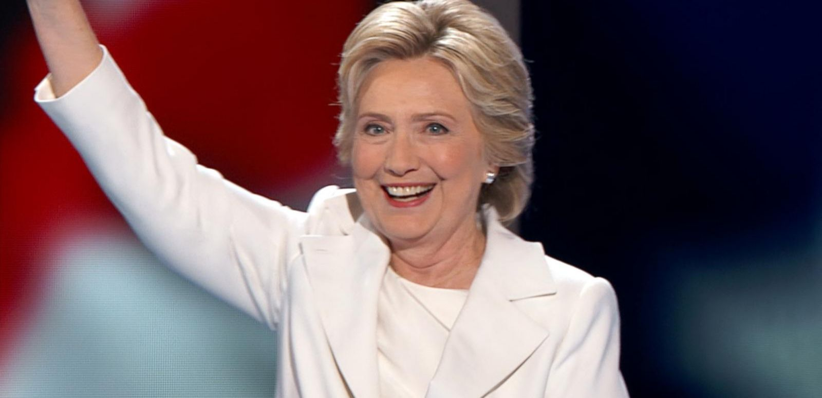 She officially became the first female nominee of a major political party.