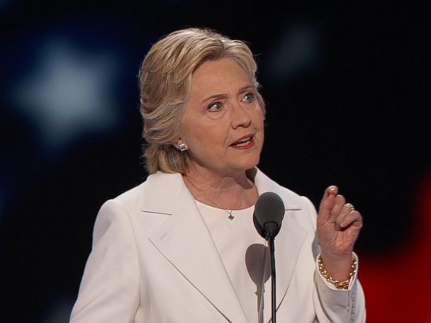 WATCH:  Hillary Clinton at the Democratic National Convention: 'We Are Stronger Together'