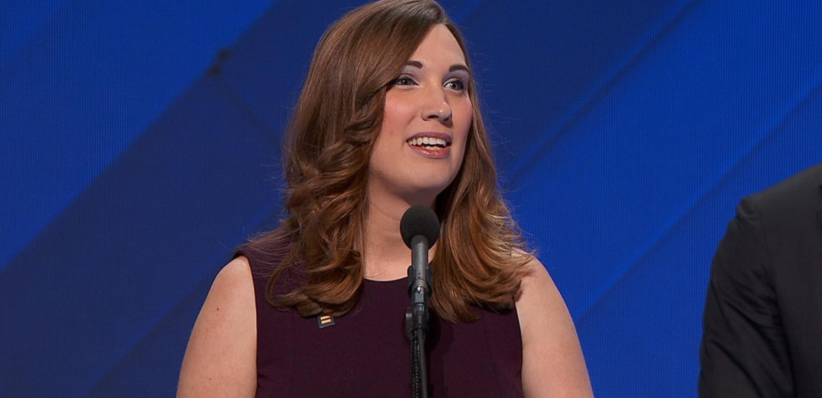 VIDEO: First Transgender Person to Speak at a Convention