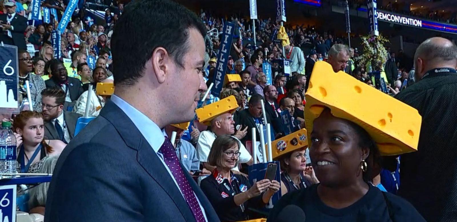 VIDEO: Wisconsin Delegates Prepare for Hillary Clinton's Speech