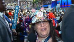 VIDEO: The Best Hats on the DNC Floor