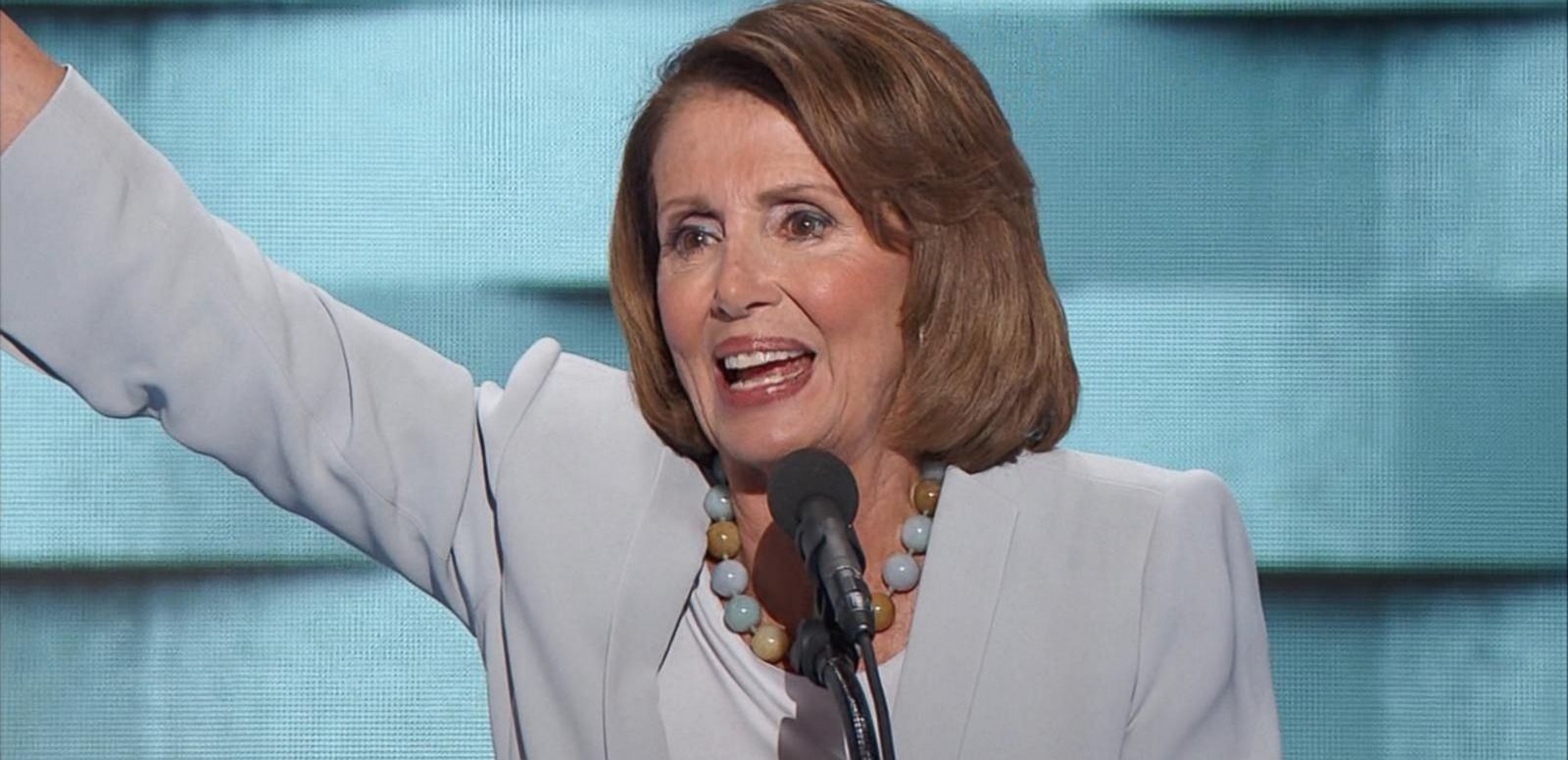 VIDEO: Nancy Pelosi Tells Assembled Democrats to Look 'Onward to Victory'