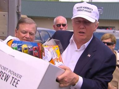 WATCH:  Donald Trump Slams President Obama for Not Visiting Flood-Ravaged Louisiana