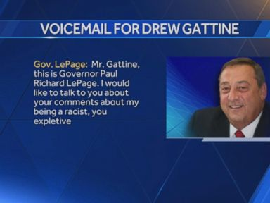 WATCH:  Maine Gov. Paul LePage Leaves Expletive-Filled Voicemail