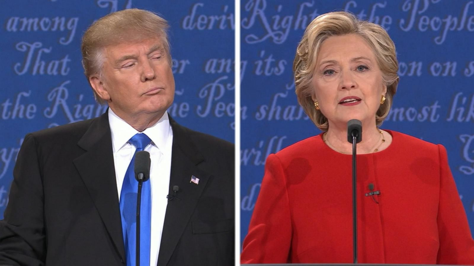 VIDEO: Clinton, Trump Debate Cybersecurity, Hacks