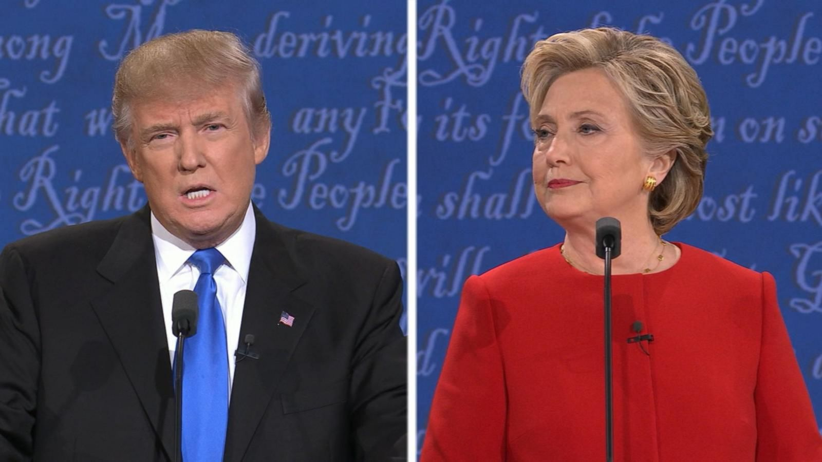 VIDEO: Hillary Clinton, Donald Trump Discuss Their Plans to Create Jobs in the US