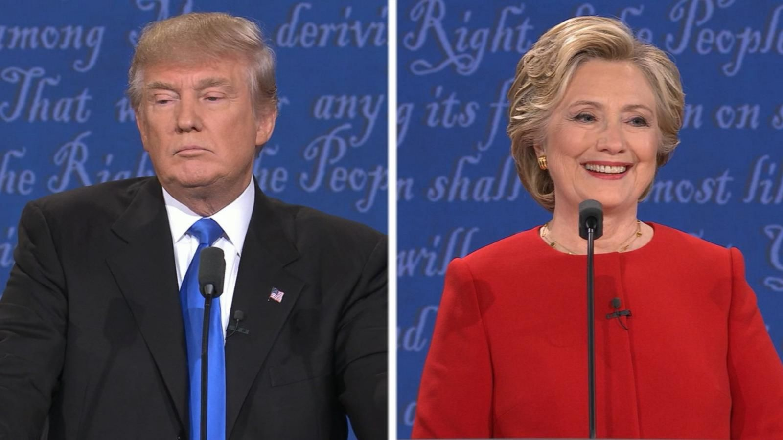 VIDEO: Donald Trump, Hillary Clinton Defend Their Tax Plans