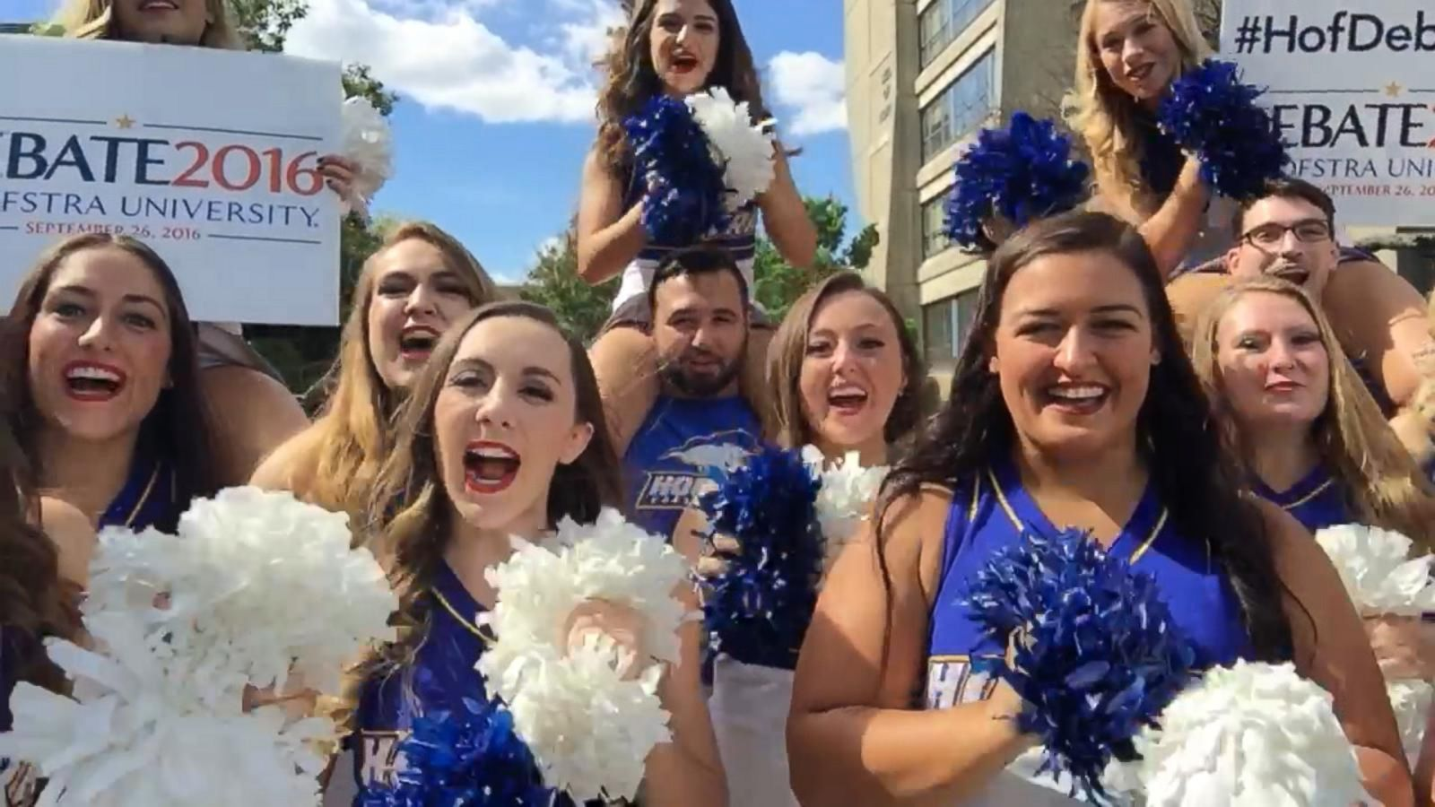 VIDEO: Meet the Hofstra University Cheerleaders