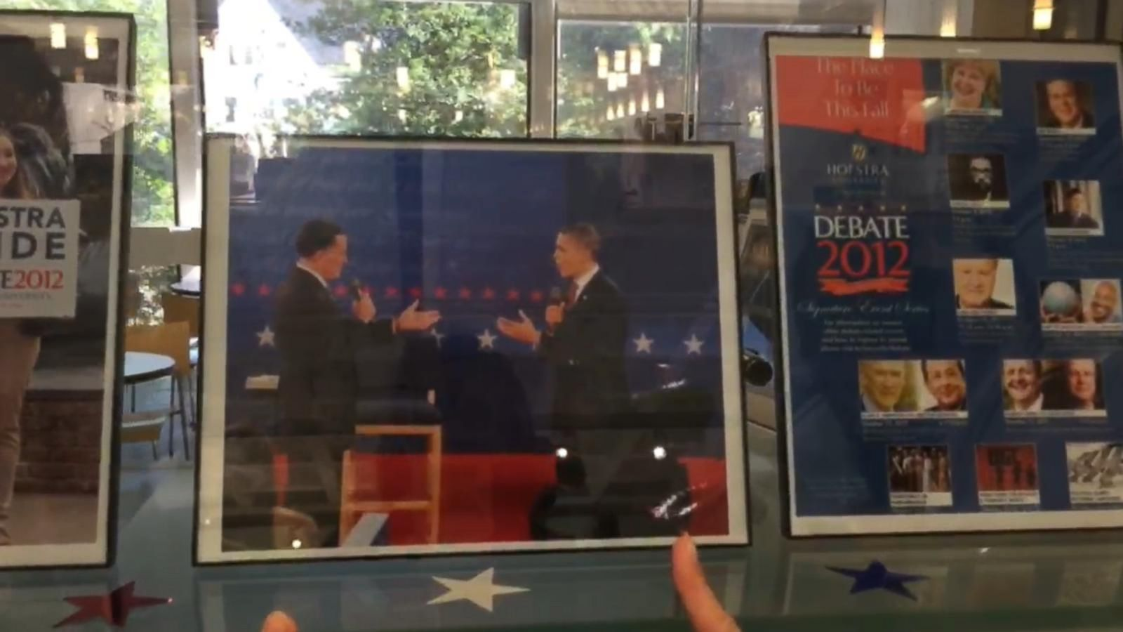 VIDEO: Hofstra University Exhibit Chronicles Past Debates