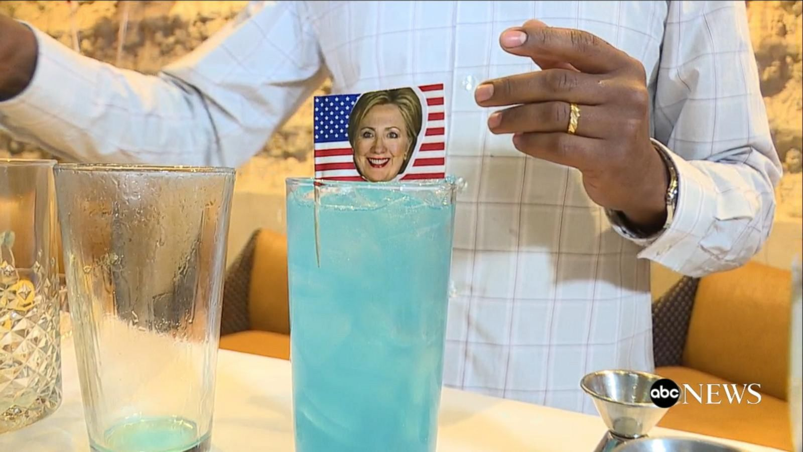 VIDEO: Bar Patrons at a DC Debate Watch Party Participate in a 'Cocktail Poll'