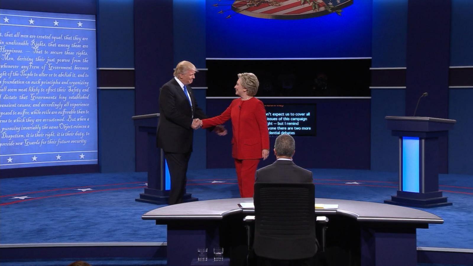 VIDEO: First Presidential Debate In A Minute
