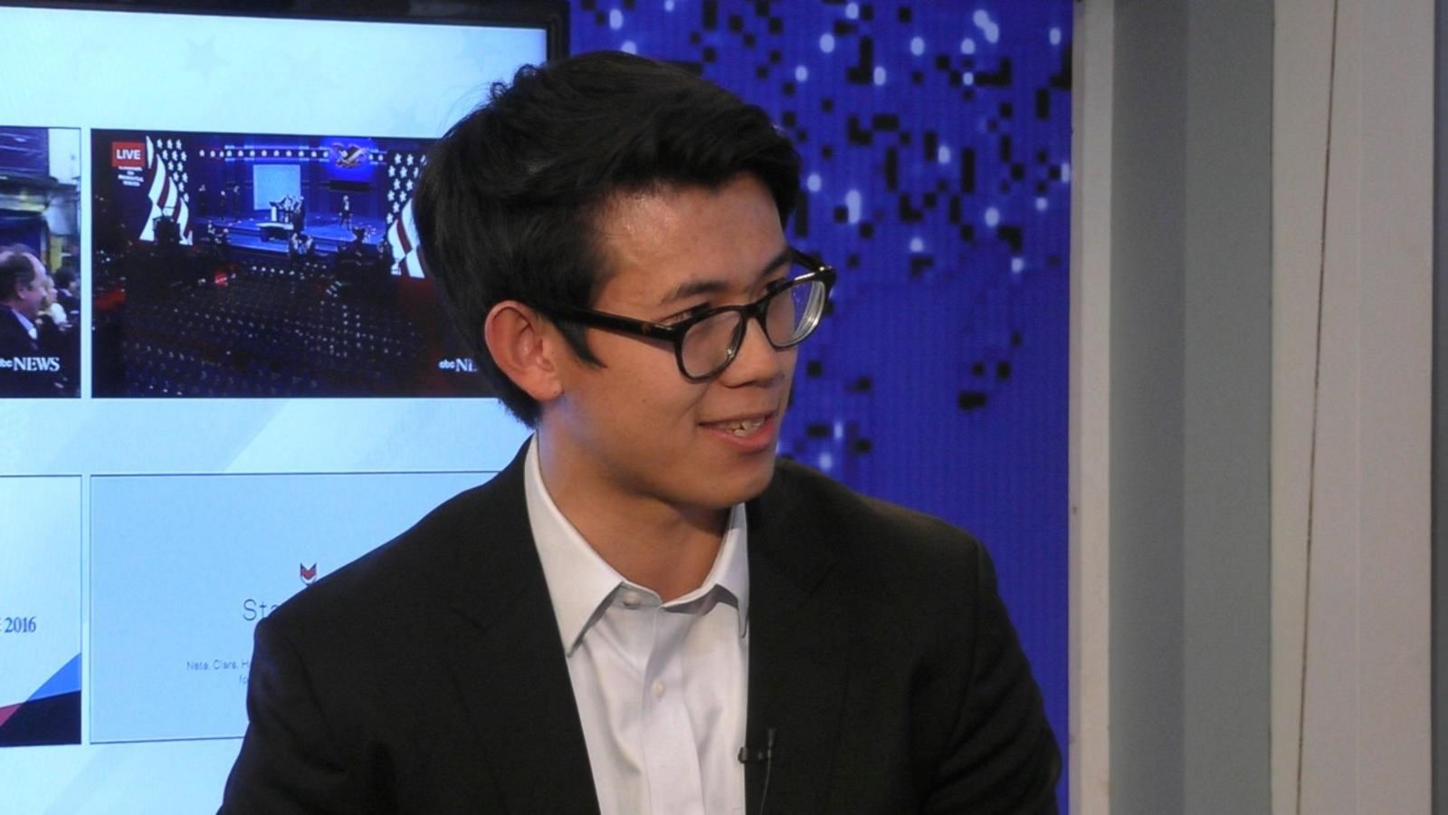 VIDEO: Yale Debate President Henry Zhang Scores the Presidential Debate