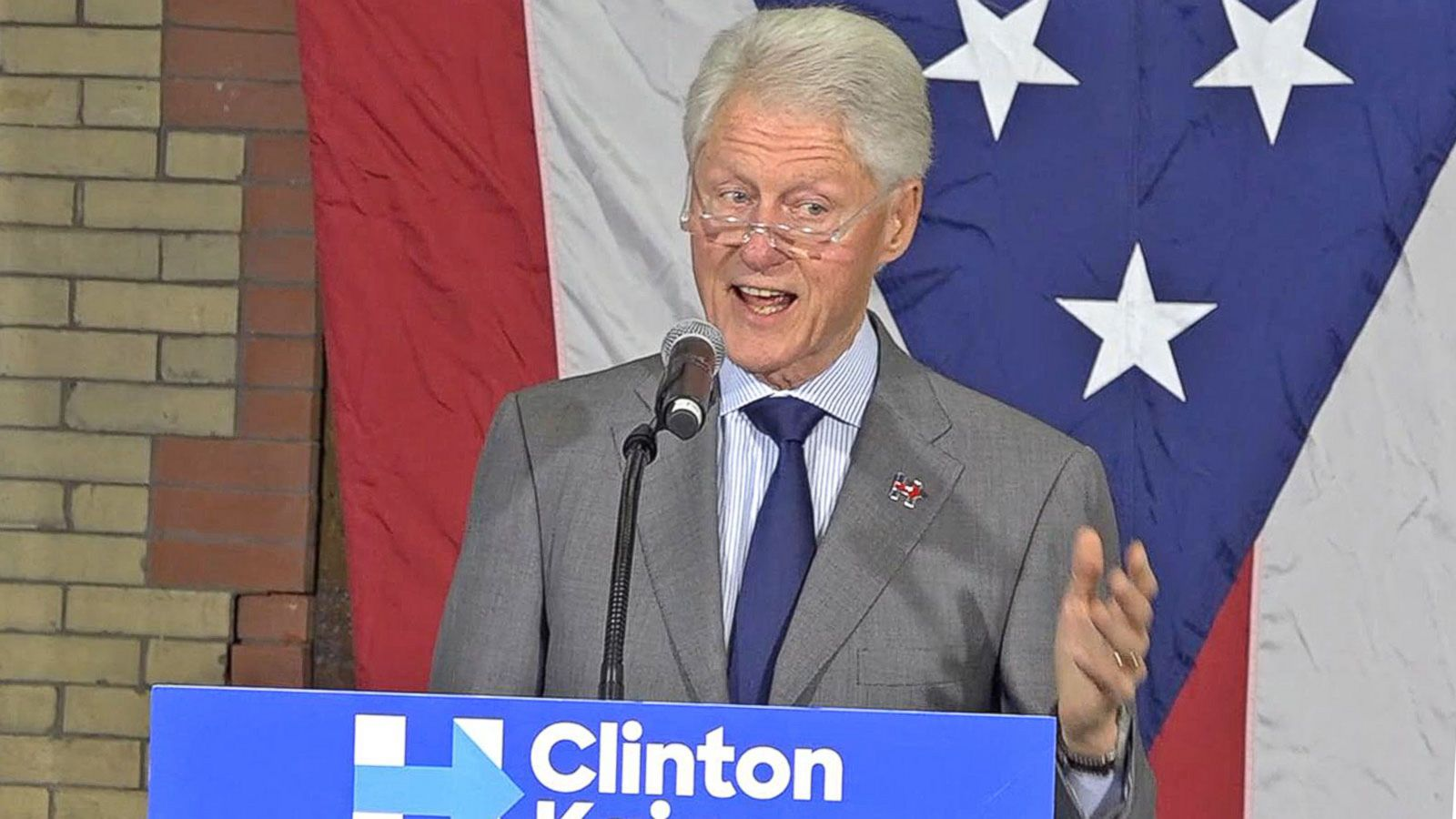 VIDEO: Bill Clinton on Free Trade Deals and the 1st Presidential Debate