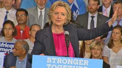 VIDEO: Hillary Clinton Shares Story of Her Hard-Working Parents at Raleigh Rally