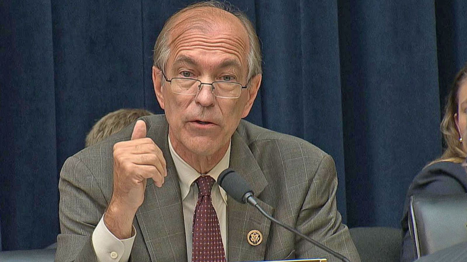 VIDEO: Congressman Asks Fed Chairwoman About Potential Political Bias Towards Clinton