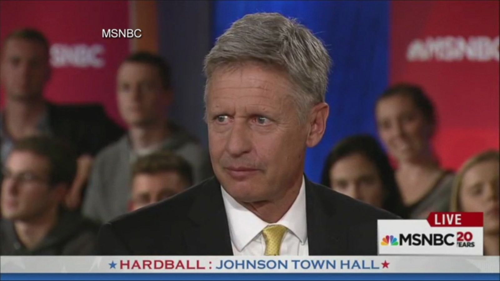 VIDEO: Gary Johnson has once again demonstrated that foreign policy may not be his strong point.