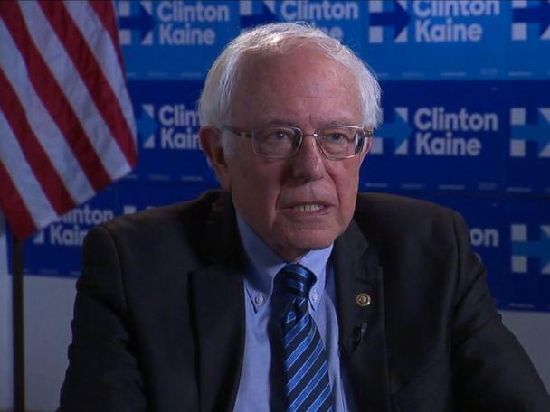 WATCH:  Bernie Sanders Says Voters Need to Look 'Beyond Personality'