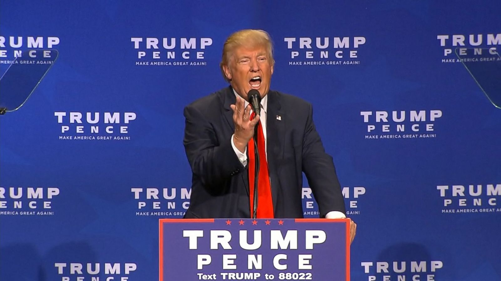 VIDEO: Donald Trump raised some eyebrows in the Silver State Wednesday night when he told Nevadans how to pronounce their states name -- differently than they do.