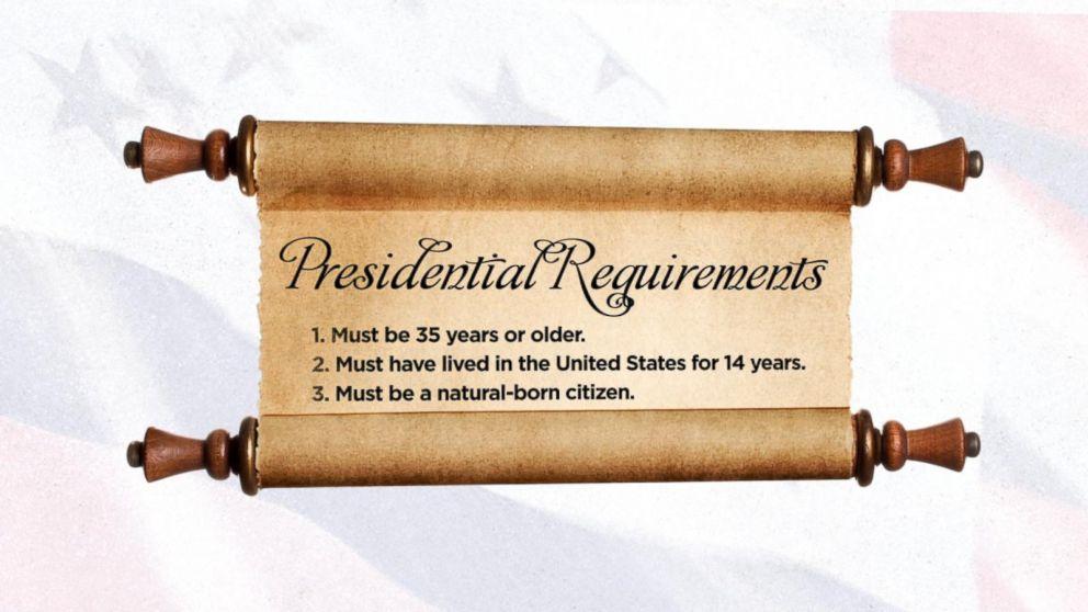 requirements you must meet to beeligble be senator