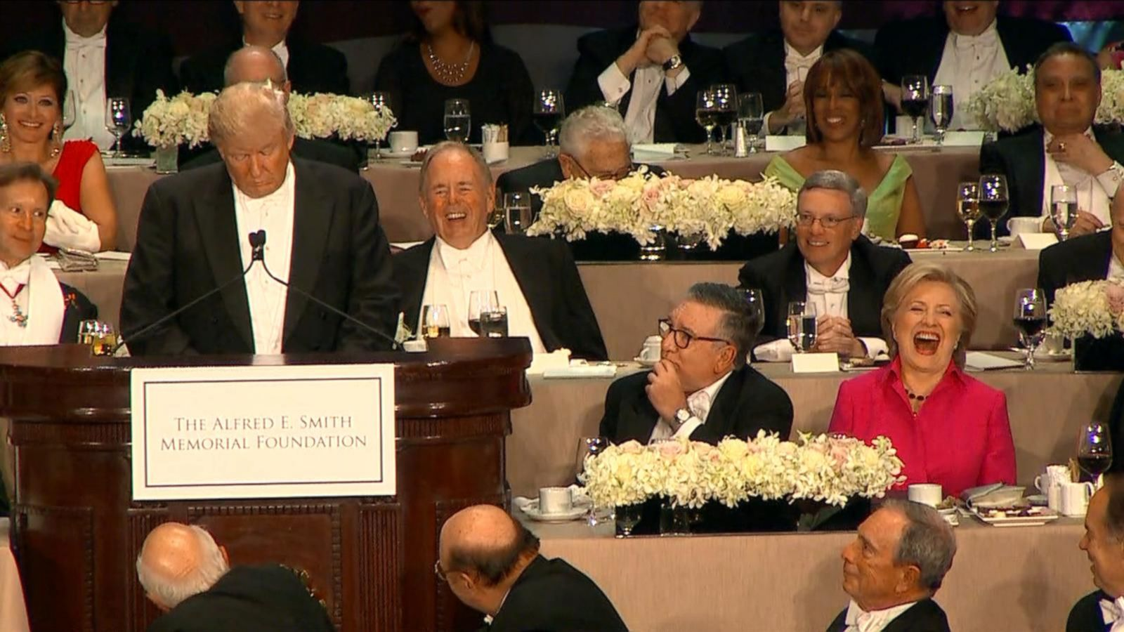 VIDEO: Best Jabs From the Al Smith Dinner