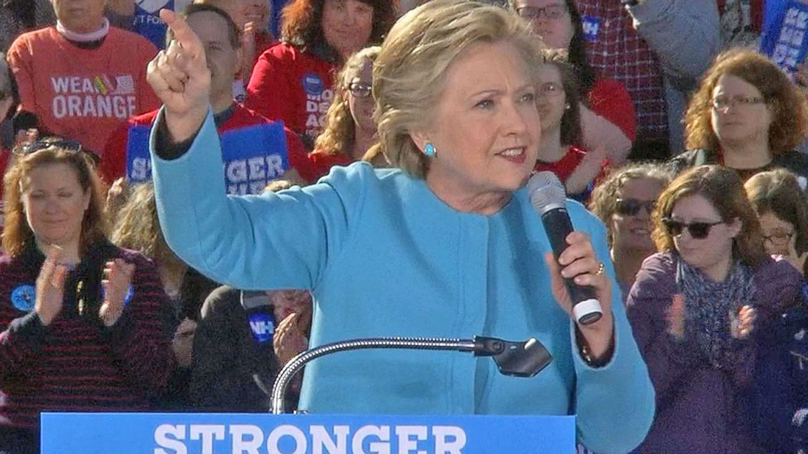 VIDEO: Hillary Clinton: This Election Will be Decided by Those 'Motivated to Vote'