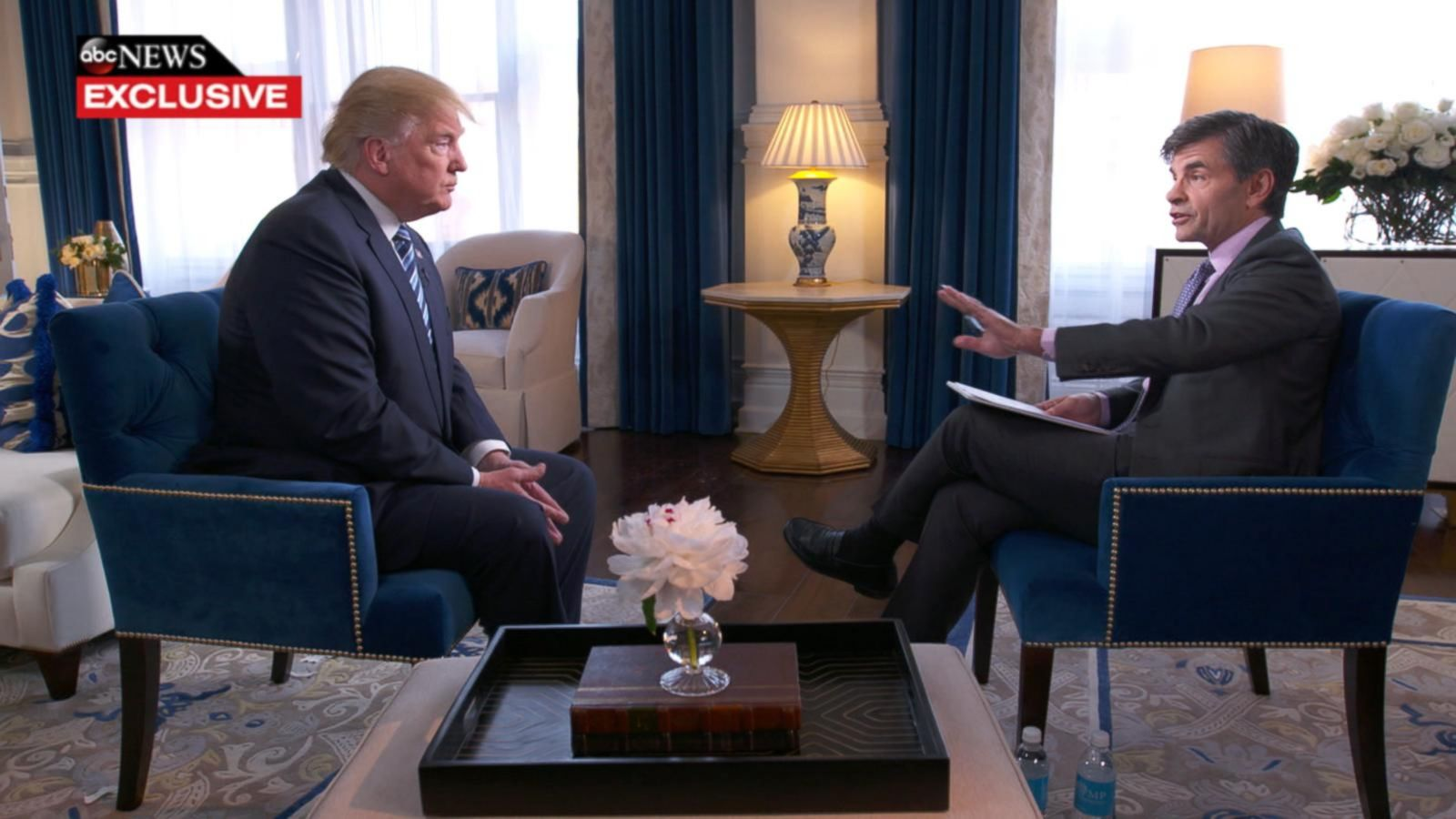 VIDEO: Trump Slams Clinton for Taking Time off for Concert in New Exclusive Interview