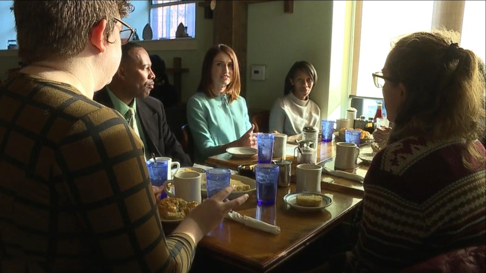 VIDEO: At Philadelphia's Sit and Eat Diner, A Spirited Conversation about 2016 and America's Future