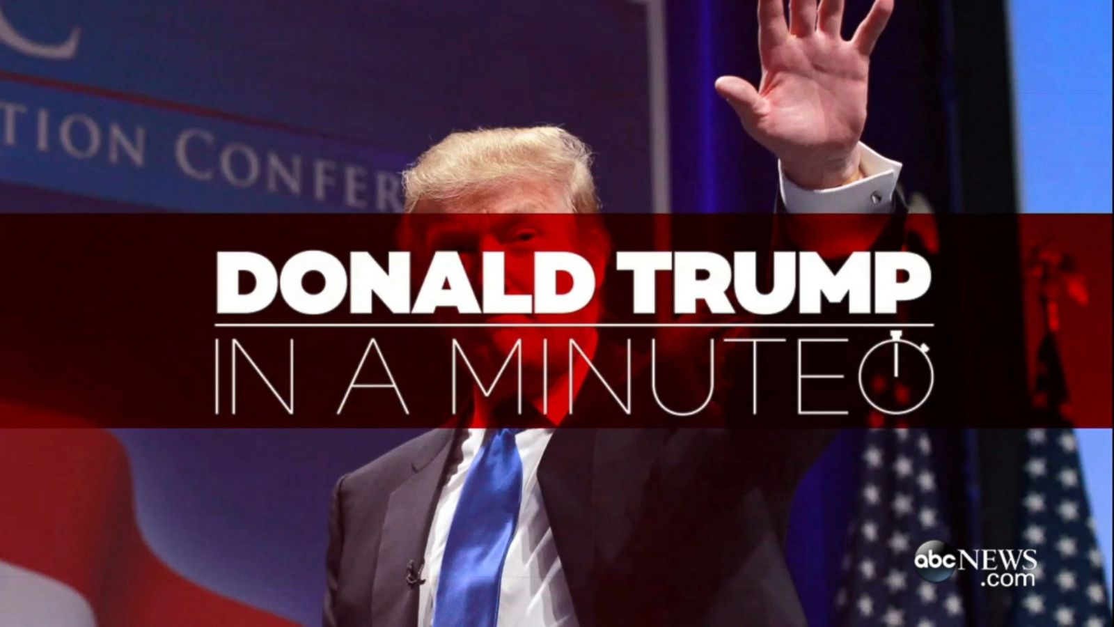 VIDEO: Donald Trump In a Minute
