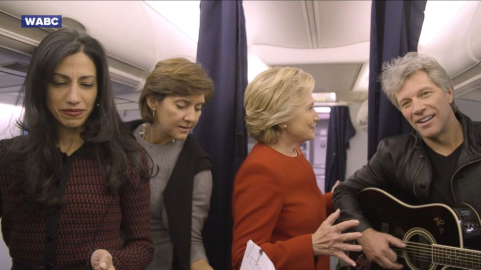 Clinton's Team Poses for 'Mannequin Challenge'