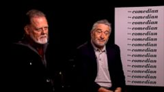 VIDEO: Actors Robert DeNiro and Jon Voight offer different opinions about the president-elect.